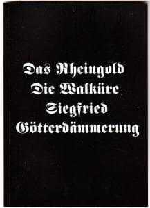 Nibelungens ring på Operan - samlat intryck 2008