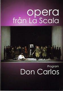 Don Carlos från La Scala på SF- Filmstaden