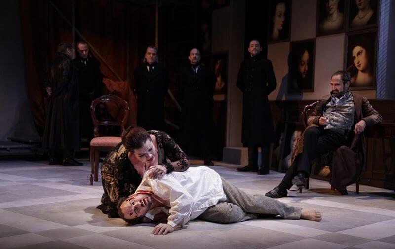 Bellincampi´s avskedsföreställning - Tosca