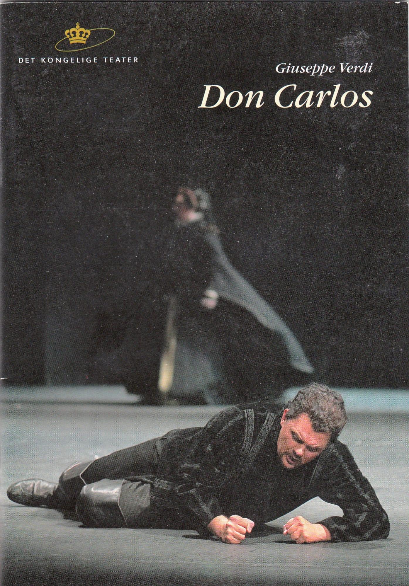 Don Carlos på Den Kongelige Opera Gamle Scene