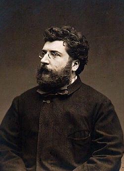 Georges Bizet fransk kompositör 1838-75