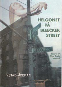 Helgonet på Bleecker street 1954 synopsis