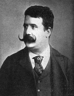 Ruggero Leoncavallo kompositör 1857-1919
