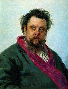 Modest Musorgskij rysk kompositör 1839-81