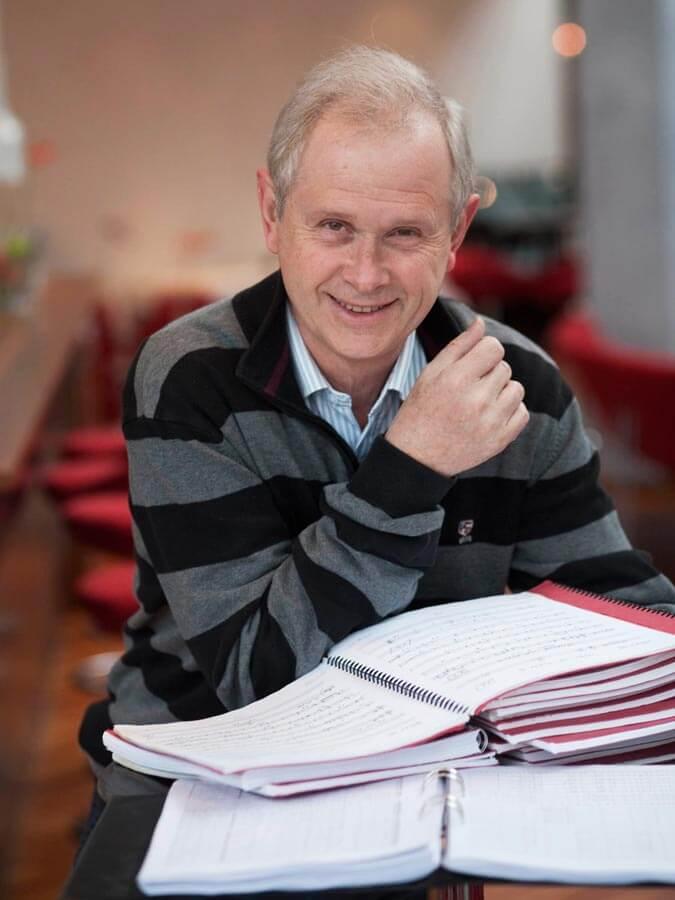Finn Rosengren dirigent född 1946
