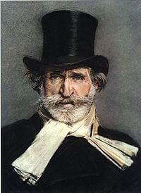 Giuseppe Verdi italiensk kompositör 1813-1901