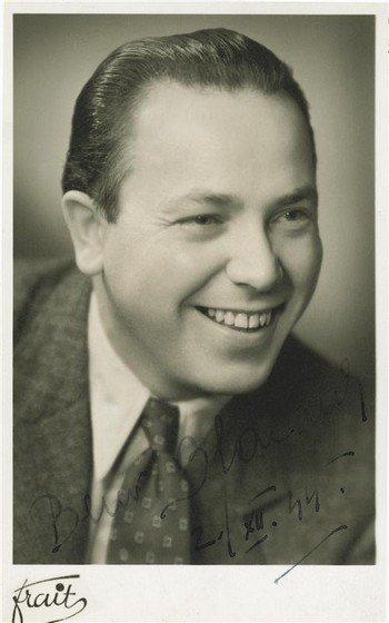 Beno Blachut Czech tenor 1913-85