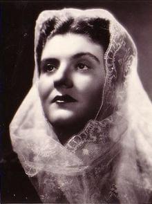 Maria Caniglia Italian soprano 1905 - 1979