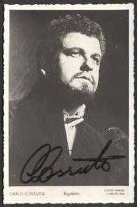 Carlo Cossutta Italian tenor 1932 - 2000