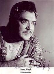 Hans Hopf impressive tenor 1916-1993