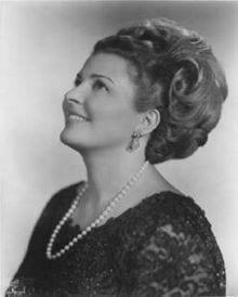 Pilar Lorengar spansk sopran 1928 -1996