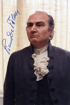 Piero de Palma italienskfödd tenor 1924 - 2013