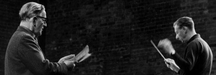Peter Pears British tenor 1910-86