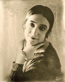 Oda Slobodskaya Russian soprano 1888-1970