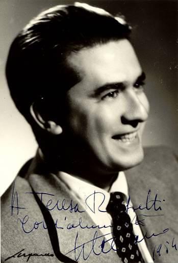 Giuseppe di Stefano Italian tenor 1921- 2008