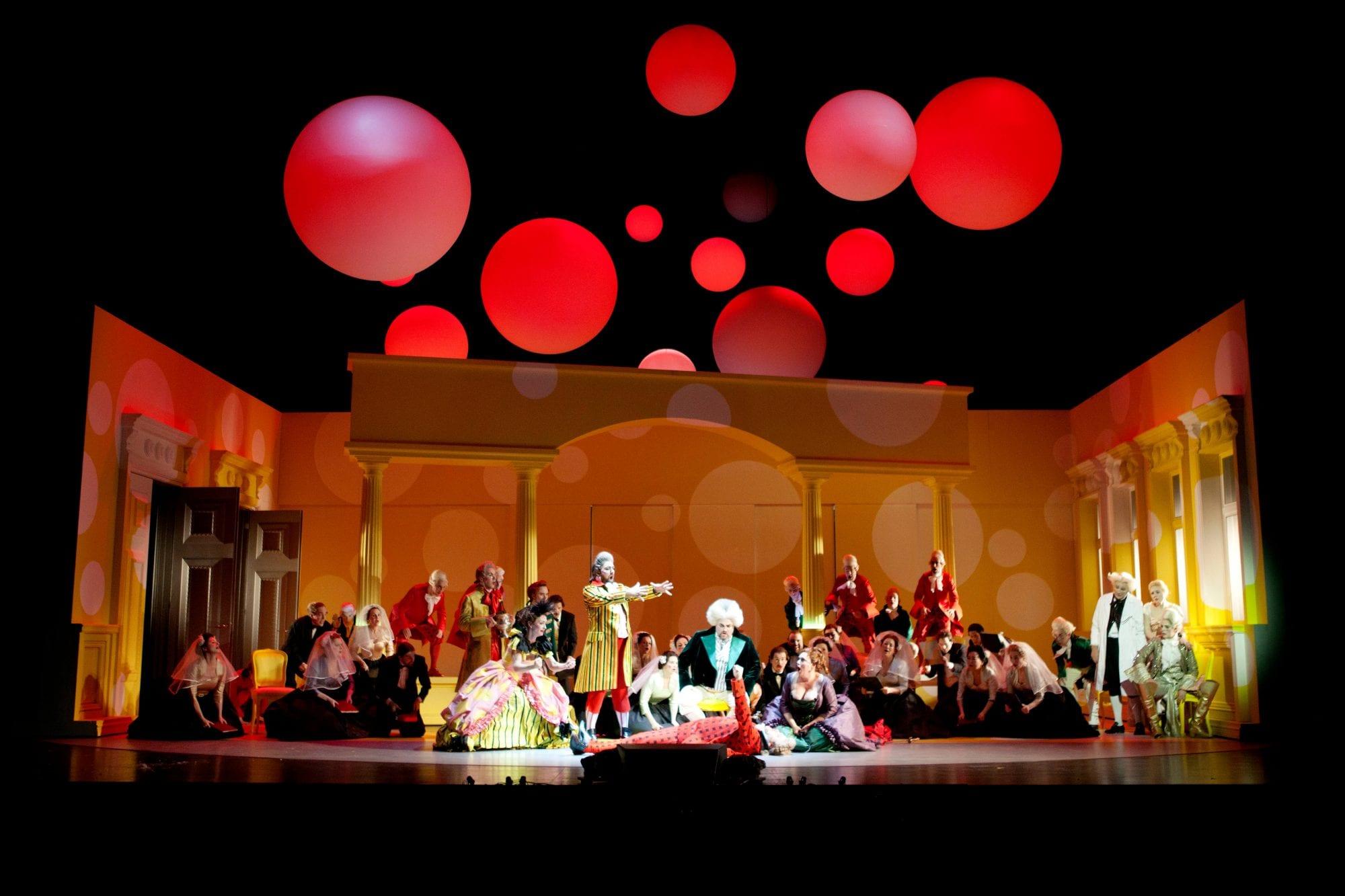 Rosenkavaljeren i pastellfärger på Malmö Opera