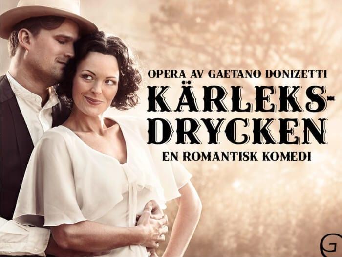 Kärleksdrycken på GöteborgsOperan - synopsis