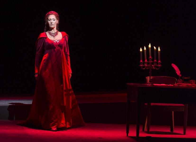Tosca på Det Kongelige Teater Operaen - synopsis