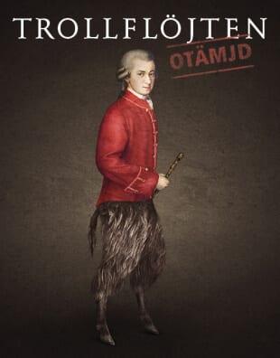 Trollflöjten Mozarts sångspel på Folkoperan - synopsis