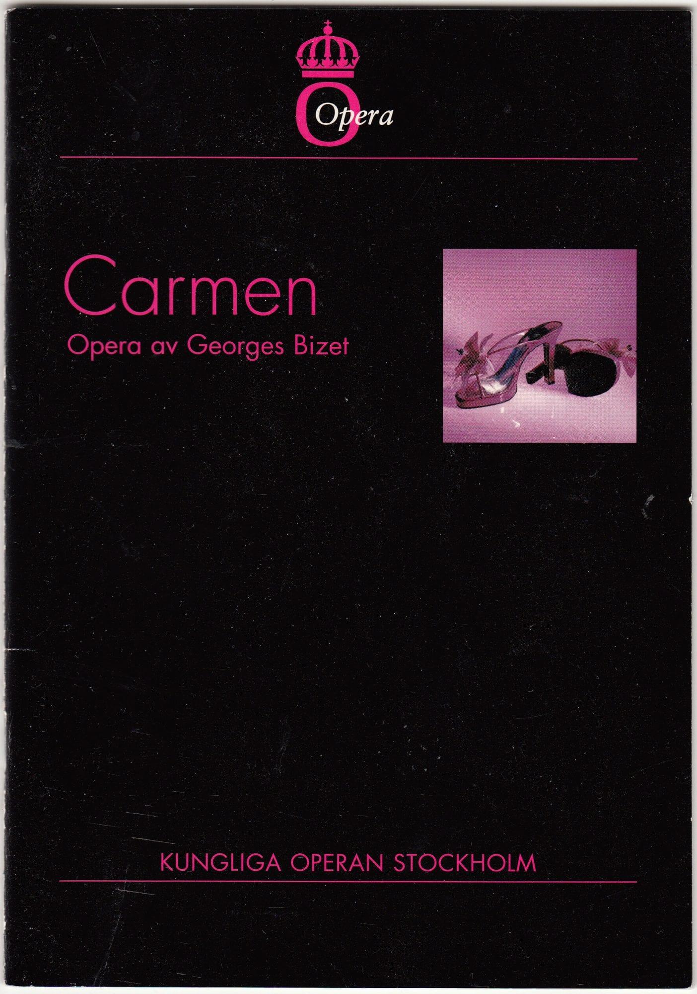 Carmen 1875 synopsis från flera scener