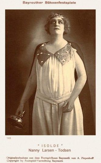 Nanny Larsén-Todsen sopran 1884 -1982