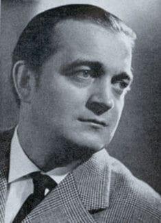 Sándor Kónya Hungarian tenor 1923-2002