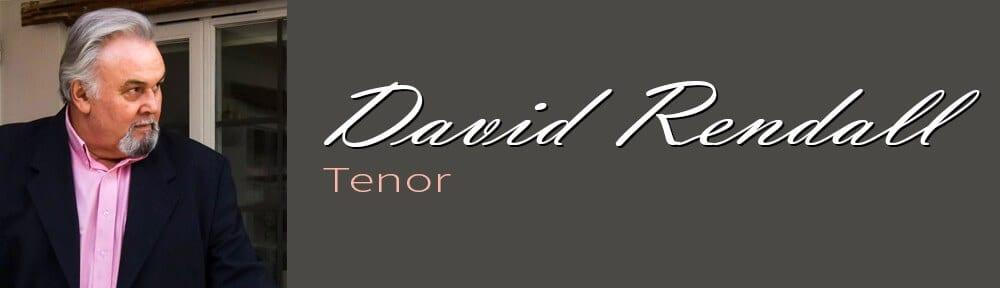 David Rendall British tenor