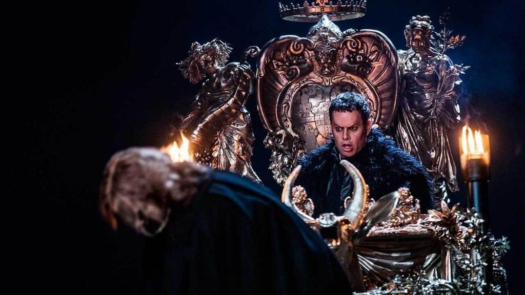 Rigoletto på NorrlandsOperan - Joachim Bäckström som hertigen i Rigoletto Bild: Mats Bäcker