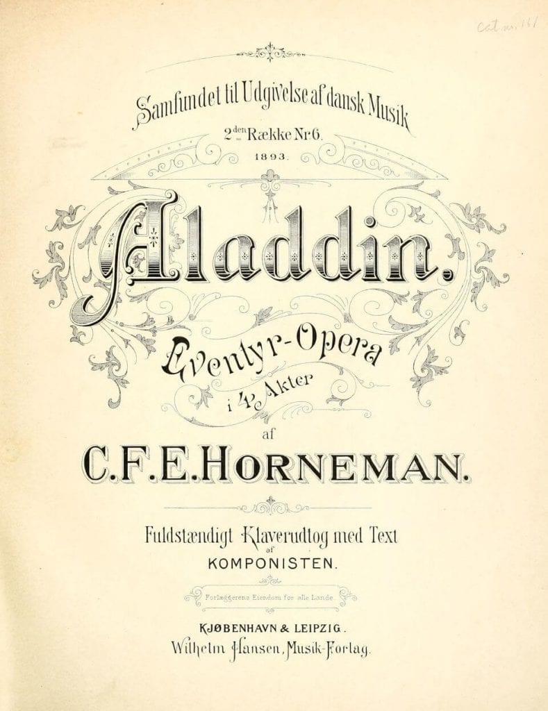 Dansk operahistoria 1789 -