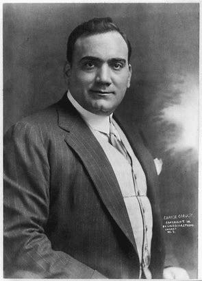 Enrico Caruso italiensk tenor 1873-1921
