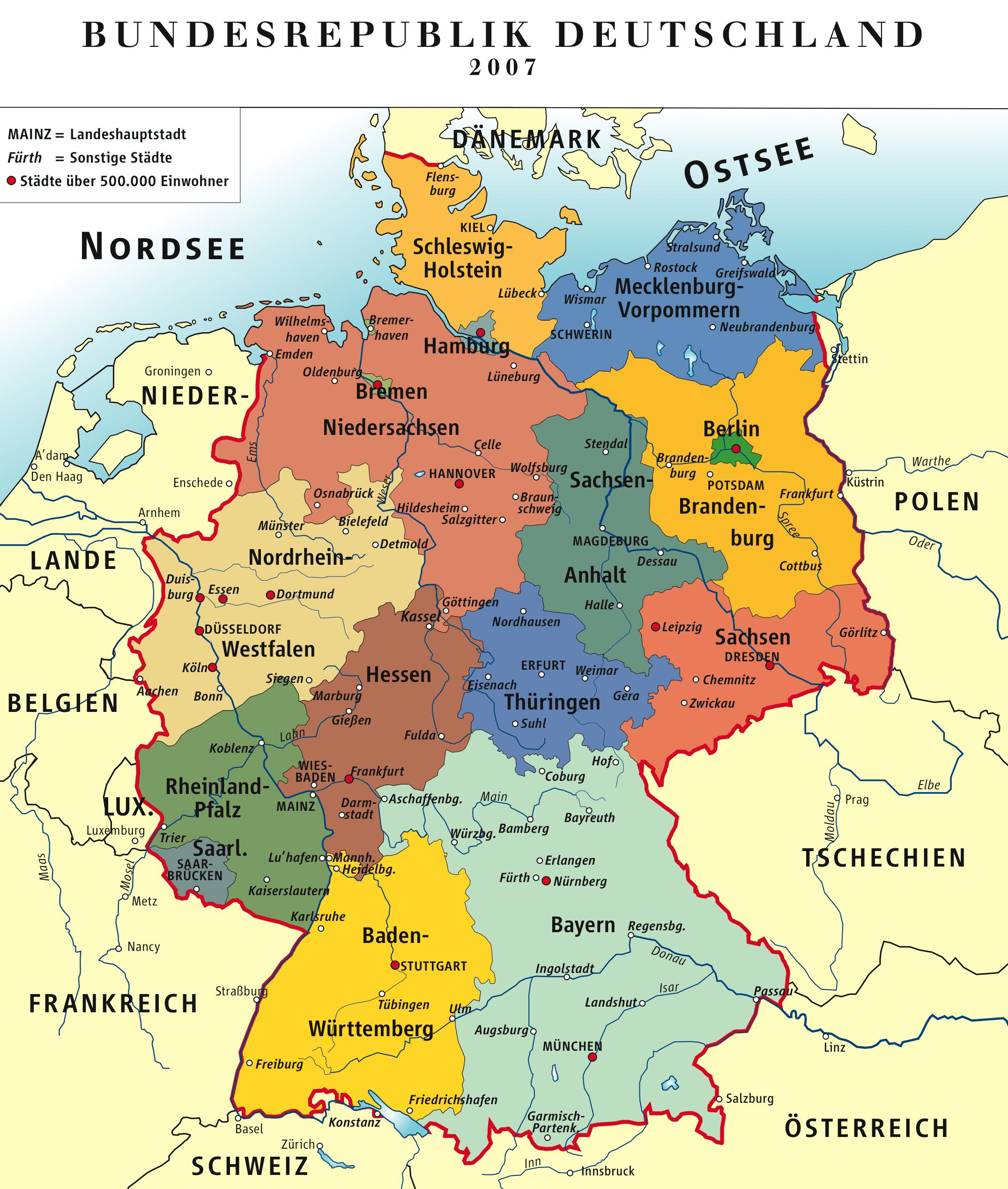 Tyskland - förbundsstaternas - operavärld