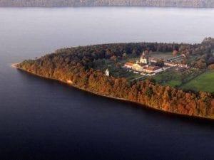Slottet i Pazaislis Kaunas