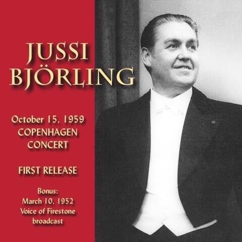 Jussi Björling In Concert på cd