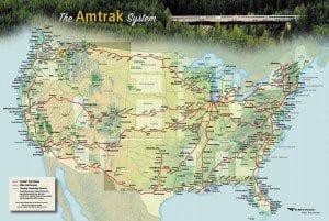 USA – kust till kust i bilder med Amtrak