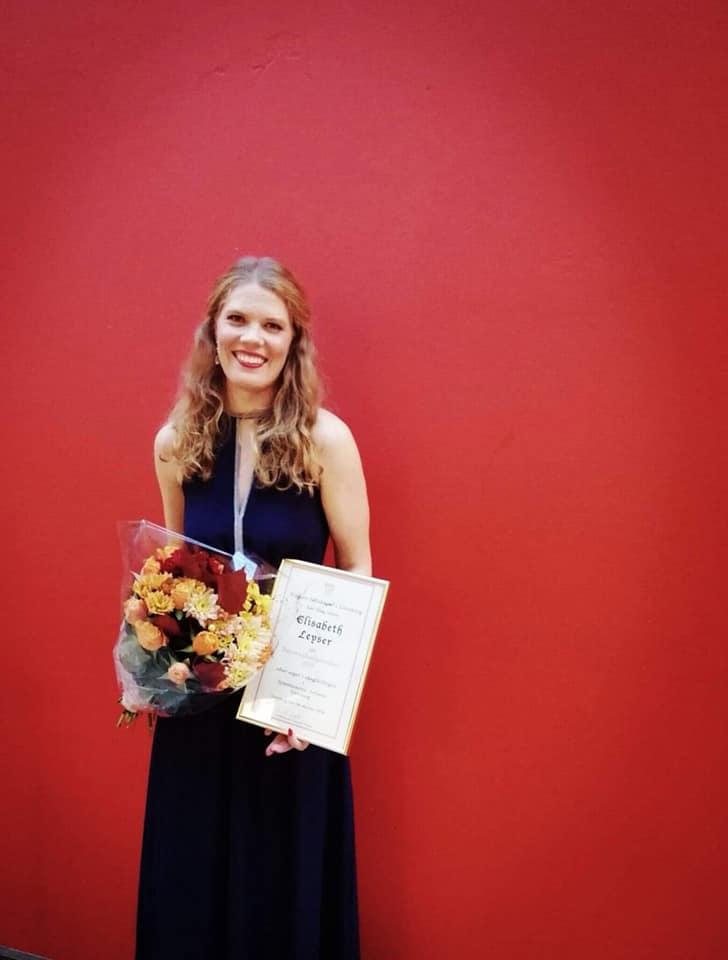 Elisabeth Leyser vann Wagnertävlingen i Göteborg