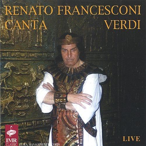 Renato Francesconi Italian tenor born 1934