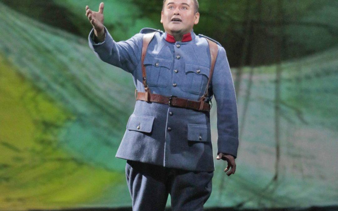 Regementets dotter – opera upplagt som ett sing-spiel