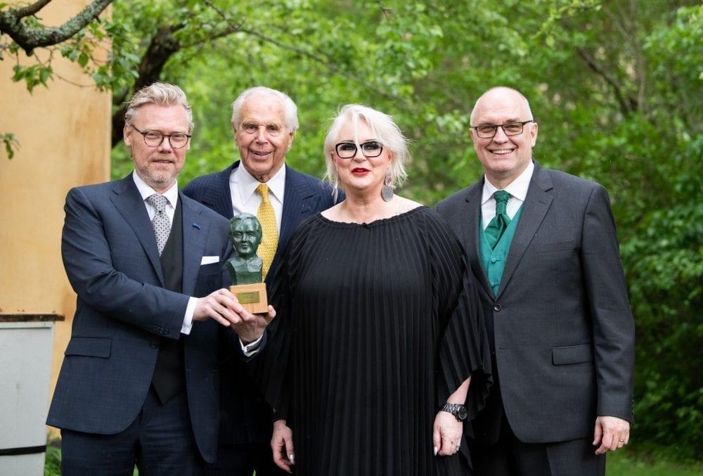 Iréne Theorin fick Jussi Björling stipendiet