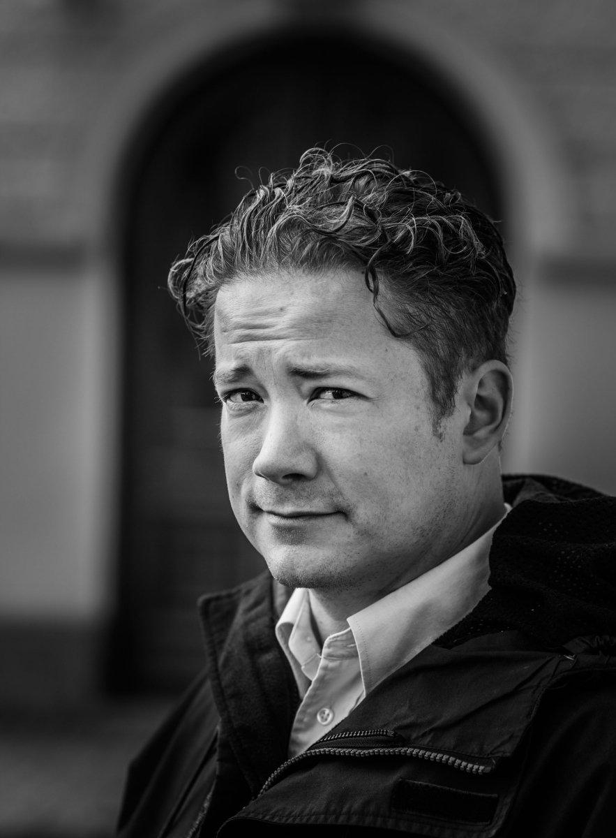 Fredrik af Klint zwischen fach-sångare