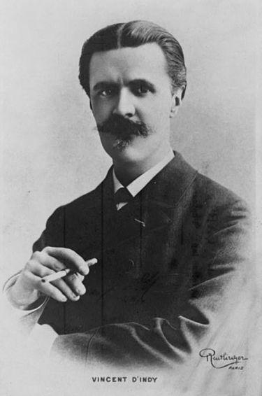 Vincent d´Indy fransk tonsättare