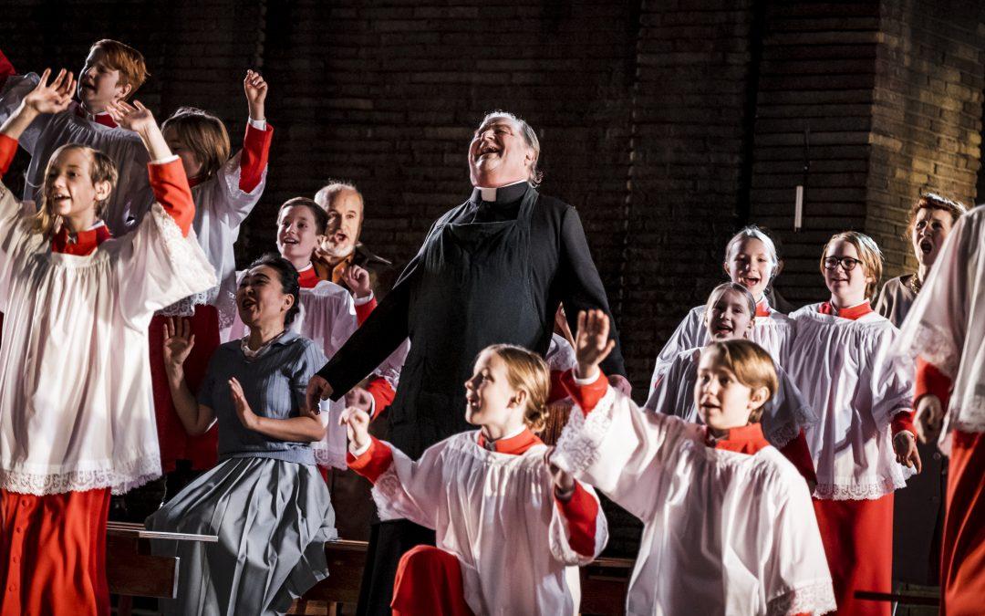 Tosca realistiskt triangeldrama Malmö Opera 2019