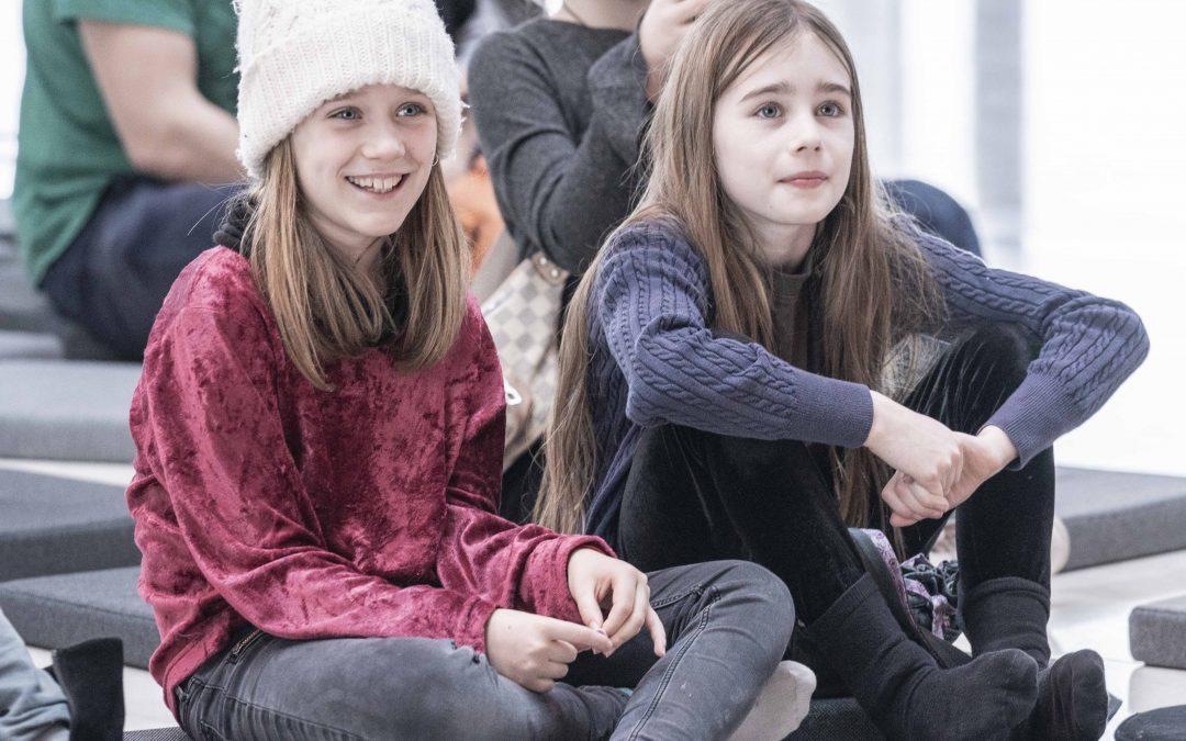 Skoleklasser på rundvisning Det Kongelige Teater