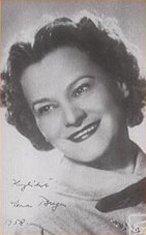 Erna Berger German soprano 1900-1990