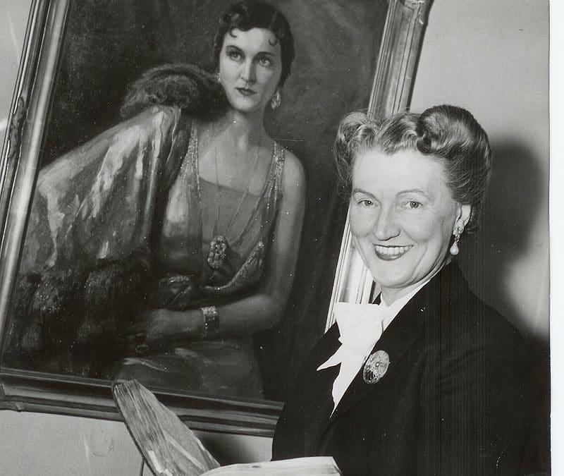 Irma Björck hovsångare mezzosopran 1898-1993