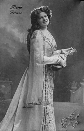 Maria Jeritza czech soprano 1887-1982