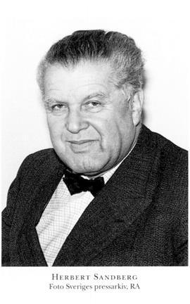 Herbert Sandberg dirigent 1902-1966