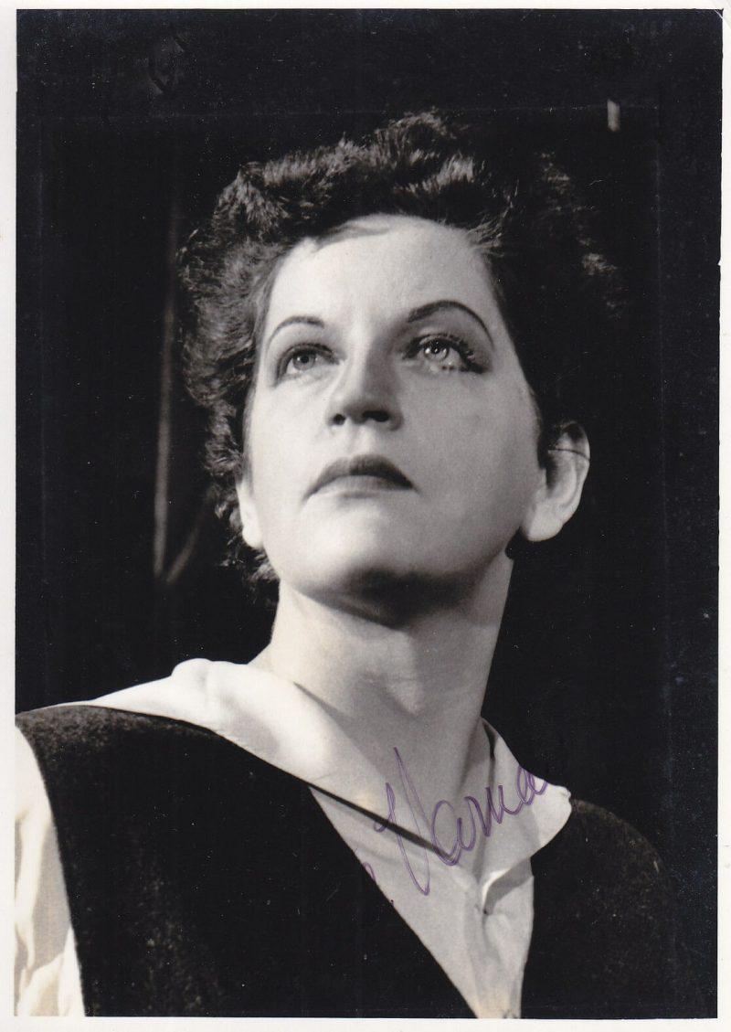 Astrid Varnay American soprano 1918-2006