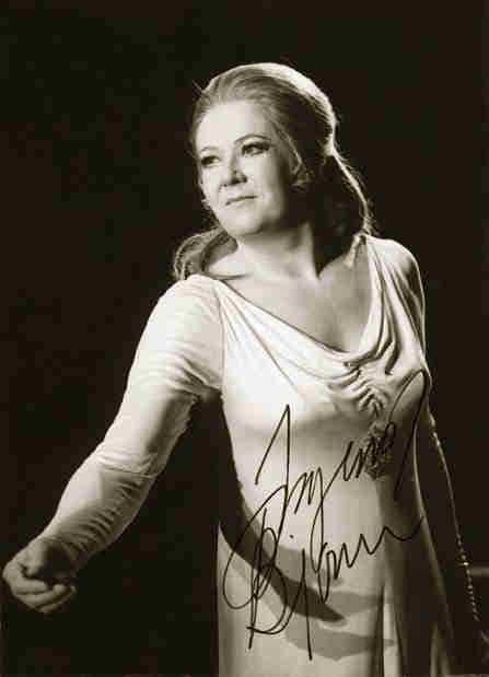 Ingrid Bjoner norsk sopran 1927-2006