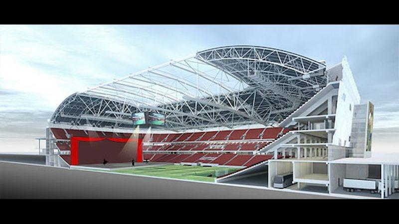 Kungliga Operan flyttar in på fotbollsarena