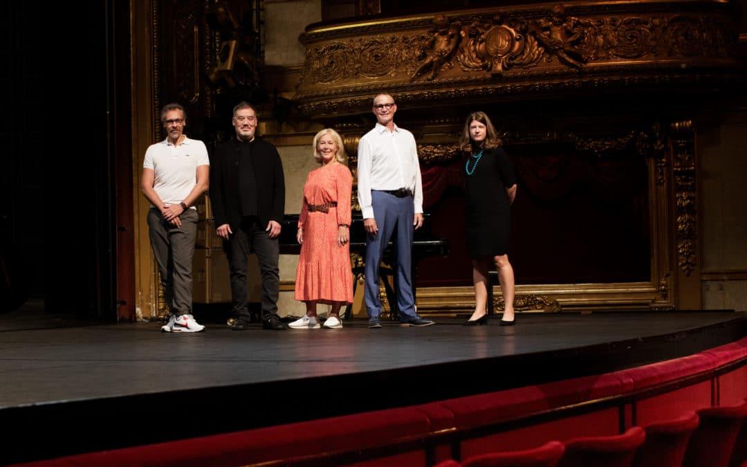 Kungliga Operan återöppnar  2021